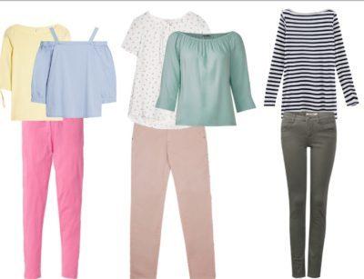 كيفية تنسيق الوان الملابس