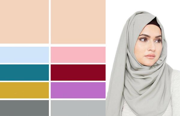 نصائح لاختيار الحجاب المناسب لبشرتك